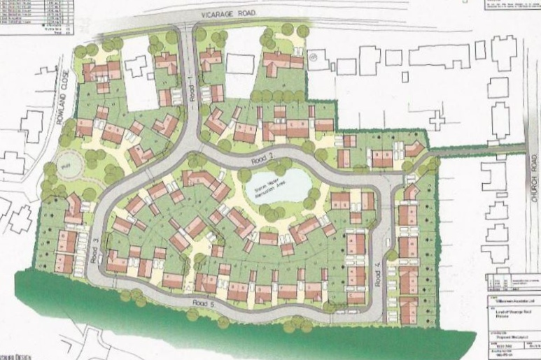 Pitstone Outline Permission for 97 plots 2015 - £6.3m